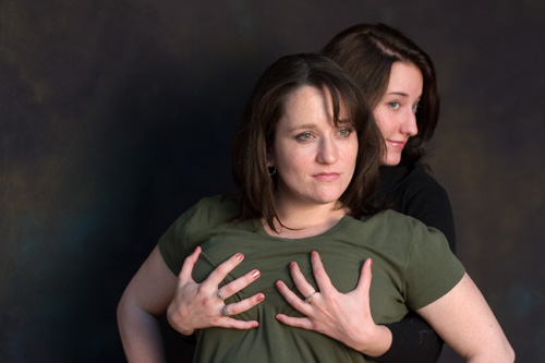 Diane and Amanda