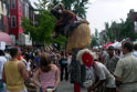 Adams Morgan Street Festival: African Dancer