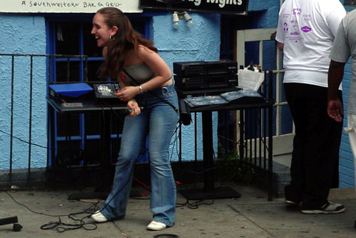 Adams Morgan Street Festival: karaoke