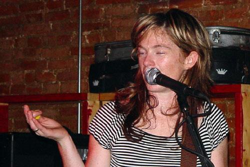 Rachel Flotard of Visqueen