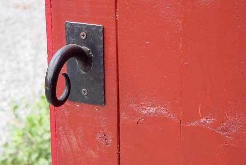 Door Pull at Ren fest