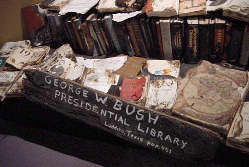 George Bush Memorial Library at Artomatic
