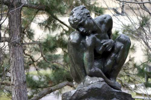 Crouching Woman by Rodin