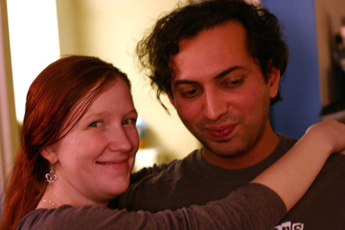 Shannon & Ash at Housewarming