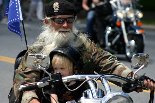 Family at Rolling Thunder