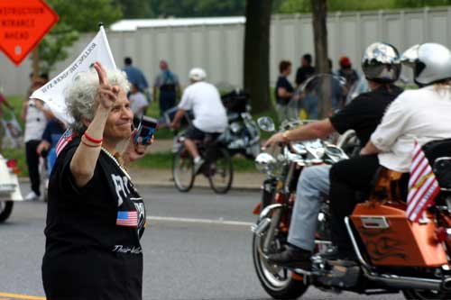 Rolling Thunder Greeter