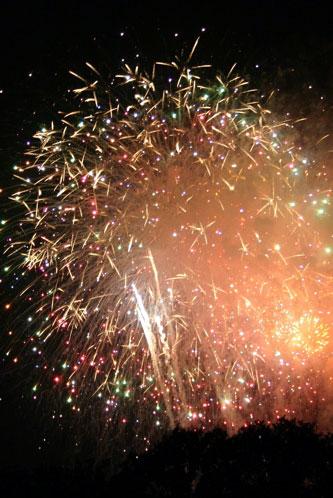 Fireworks in Washington DC