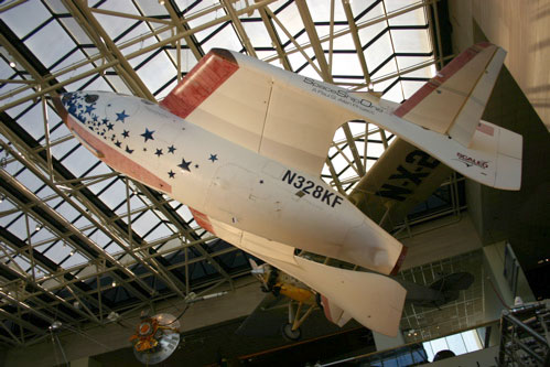 SpaceShipOne Unveiling at the Smithsonian