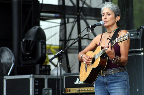Joan Baez at Concert for Peace