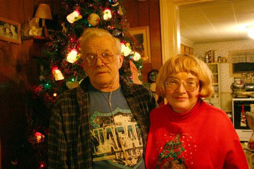 photo: dad & ann