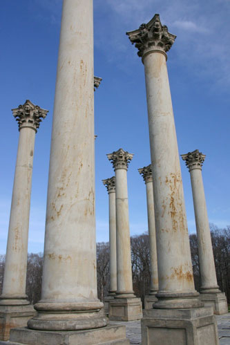 Capital Columns at National Arboretum