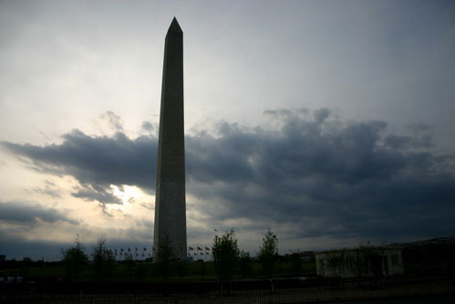 Sunset at the Washington Monument